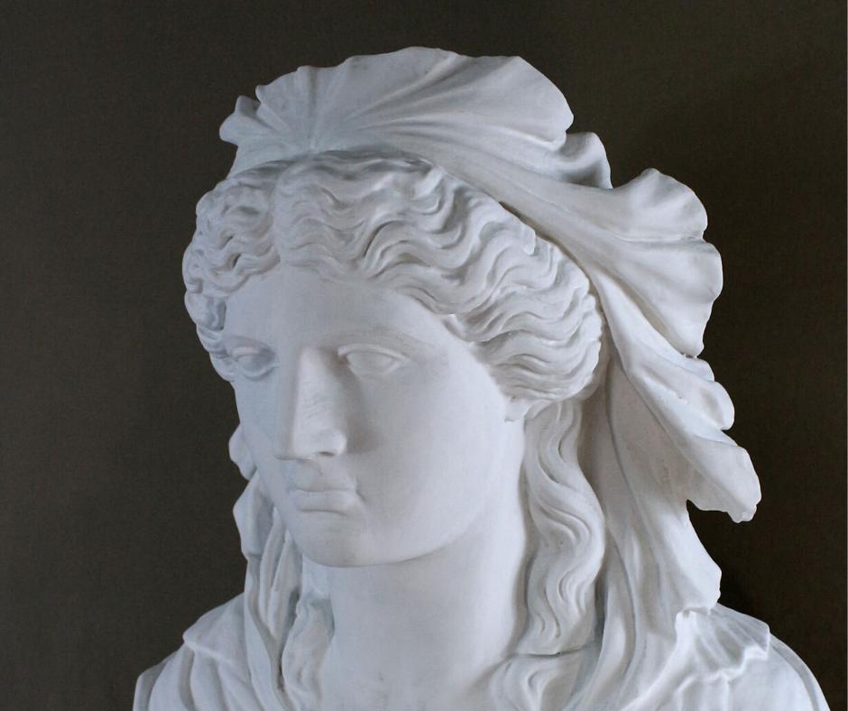 Tre busti classici – Tribuna di Palazzo Grimani – Venezia – 2019