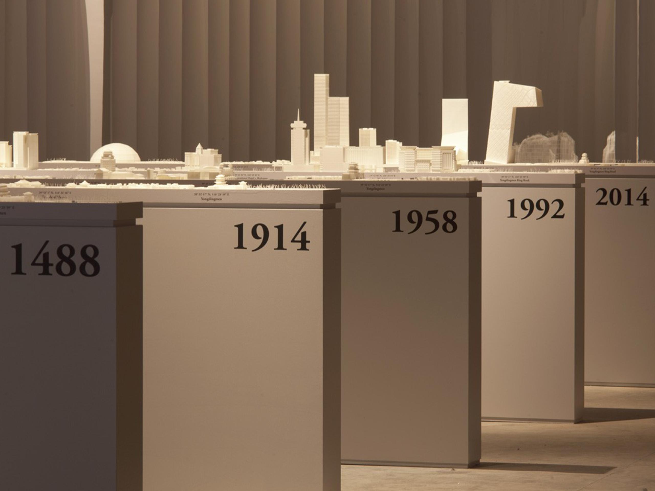 Across Chinese Cities – Beijing- Biennale di architettura di Venezia – 2014